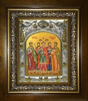 купить икону Собор мучеников Кесарийскихм