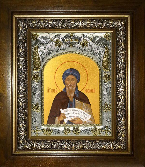 купить икону святой Косма Маиумский (Иерусалимский)
