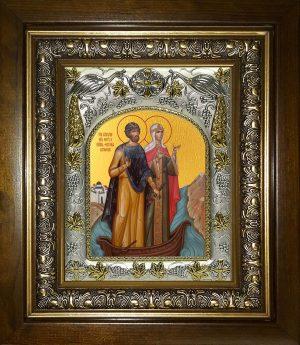 купить икону Петр и Феврония благоверные