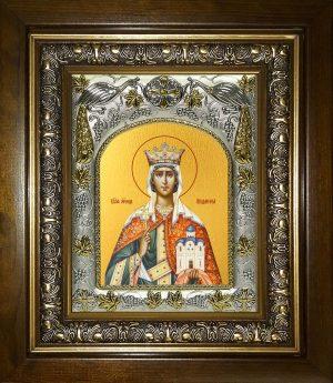 купить икону Людмила мученица, княгиня чешская