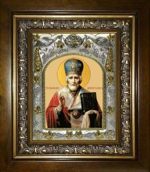 купить икону Николай чудотворец, архиепископ Мир Ликийских,святитель