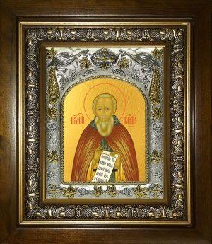 купить икону Александр Свирский преподобный