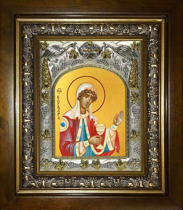 купить икону Варвара великомученица