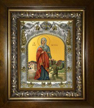 купить икону святая Марина великомученица