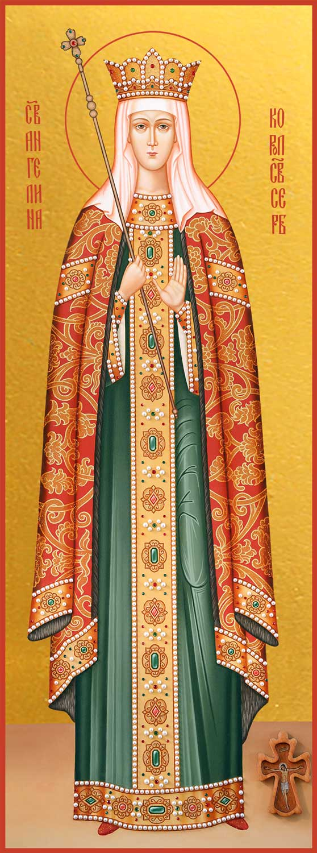 Мерная икона Ангелина Сербская блаженная