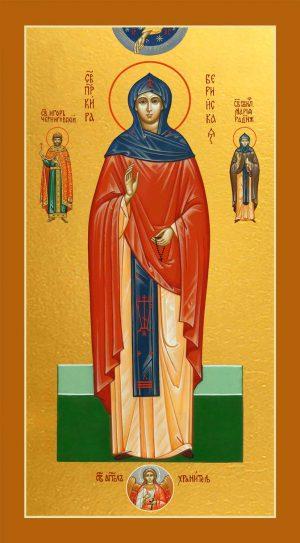 Мерная икона Кира Берийская (Македонская) преподобная