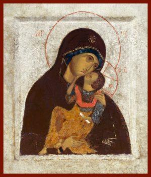 купить икону Яхромская Божией Матери