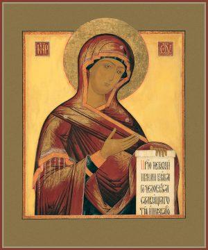 купить икону Деисусная икона Божией Матери