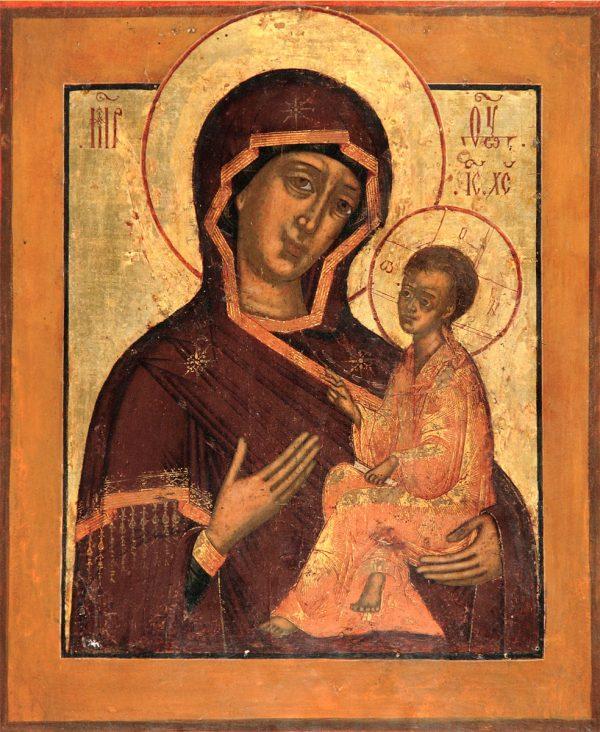 купить икону Тихвинская Божией Матери