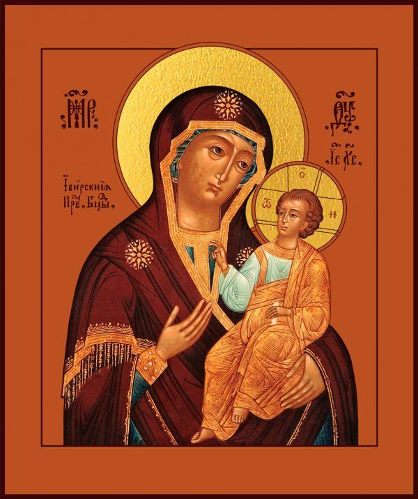 купить икону Иверская Божией Матери