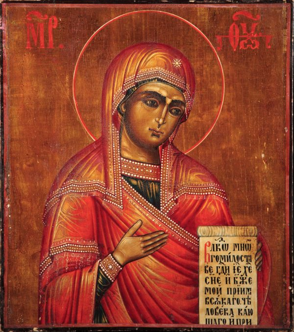 купить икону Деисусная Божией Матери