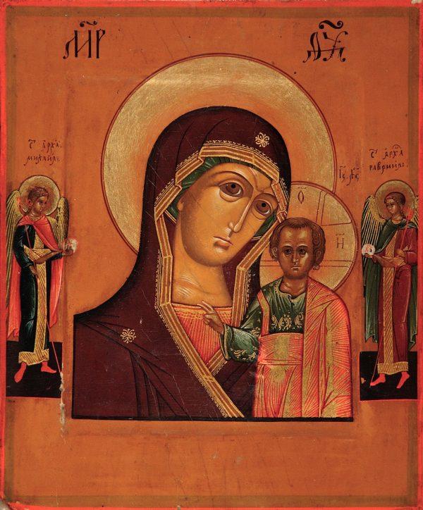 купить икону Казанская Божией Матери