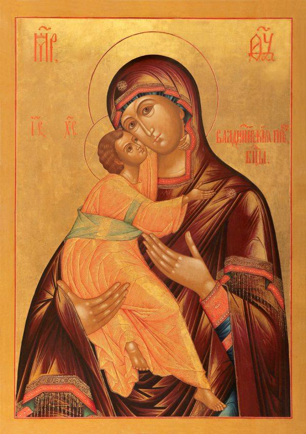 купить икону Владимирская Божией Матери