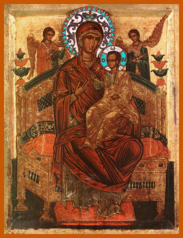 купить икону Всецарица икона Божией Матери