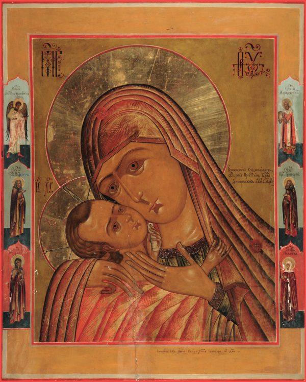 купить икону Днепровская икона Божией Матери