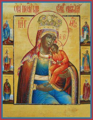купить икону Избавление от бед страждущих икона Божией Матери