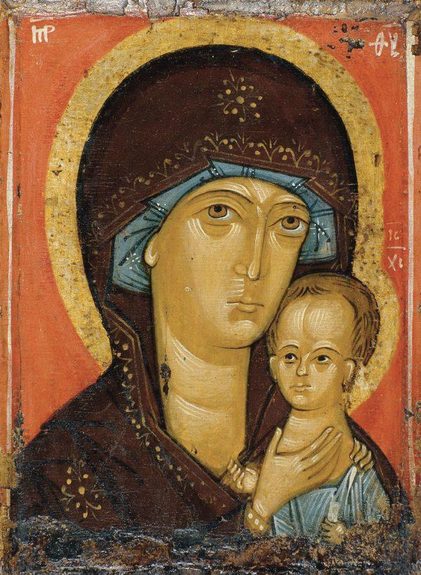 купить икону Петровская икона Божией Матери