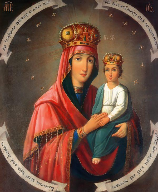 купить икону Споручница грешных икона Божией Матери
