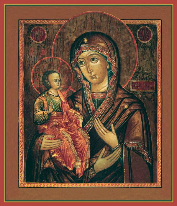 купить икону Троеручица Божией Матери