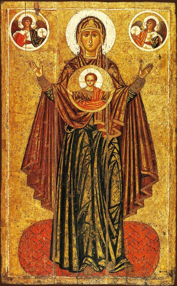 купить икону Великая Панагия икона Божией Матери