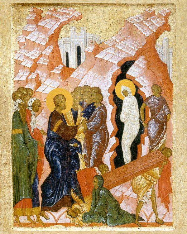 купить икону Воскрешение Лазаря
