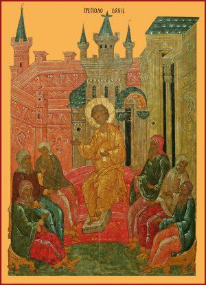 купить икону Преполовение Господне