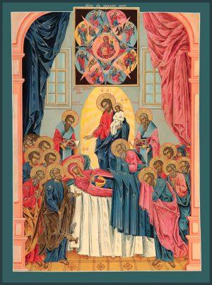 купить икону Успение Пресвятой Богородицы