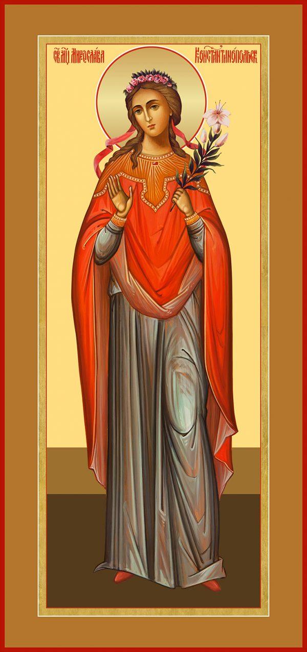 Мерная икона Мирослава Константинопольская, мученица