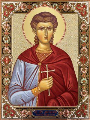 Икона Дорофей Никомидийский, мученик