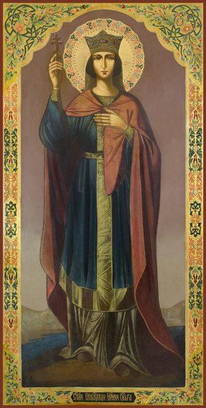 Мерная икона Ольга равноапостольная великая княгиня