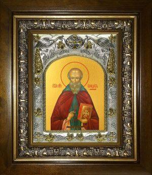 купить икону Венедикт Нурсийский