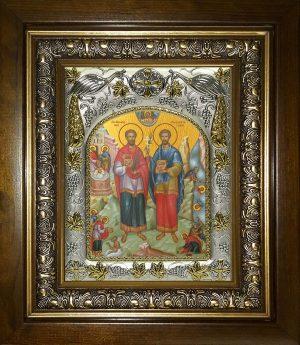 купить икону святые Косьма и Дамиан бессребреники