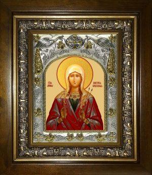 купить икону святая Виктория Коринфская