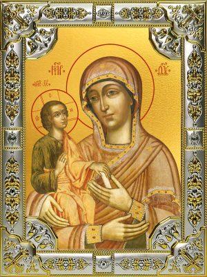 купить икону Божьей Матери Троеручица