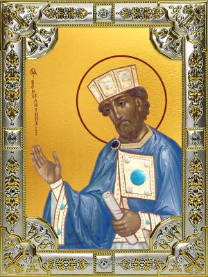 купить икону святой Константин Великий