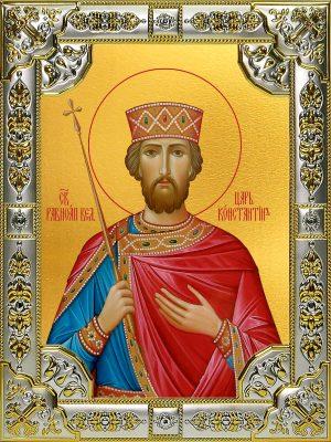 купить икону Константин равноапостольный царь