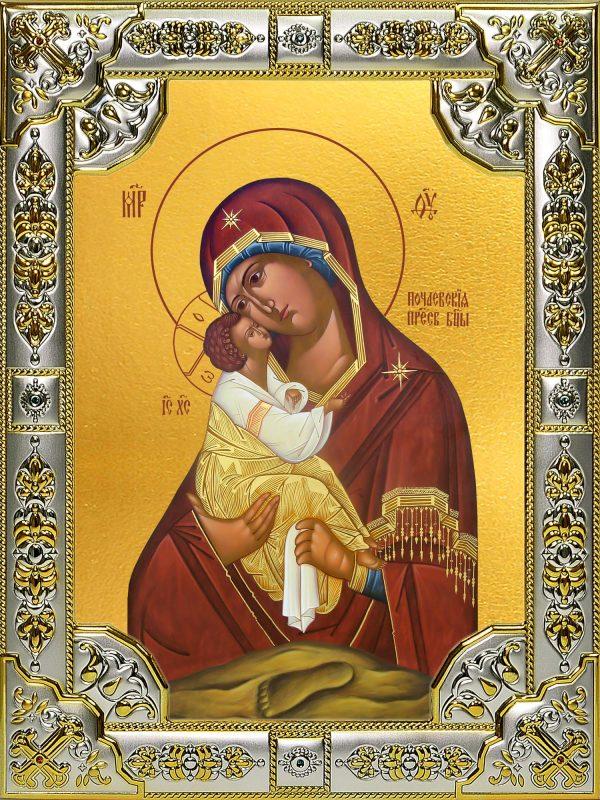 купить икону Божьей Матери Почаевская
