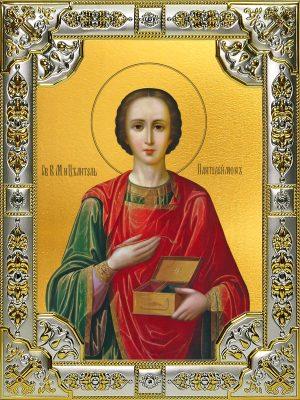 купить икону святой Пантелеимон целитель