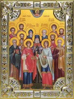 купить икону Собор святых целителей