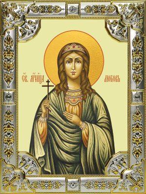купить икону святой Любови