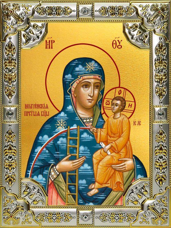 купить икону Божьей Матери Молченская