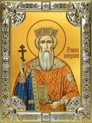 купить икону святой Владимир великий князь
