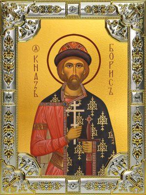 купить икону святой Борис князь