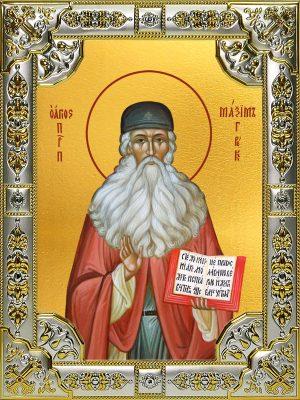 купить икону святой Максим Грек