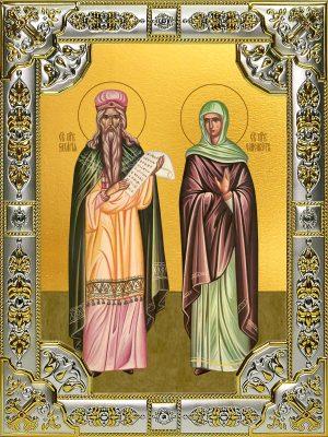 купить икону святые Захария и Елисавета праведные