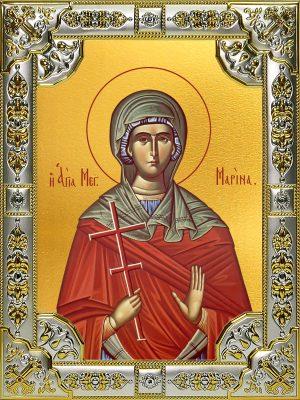 купить икону Марина великомученица