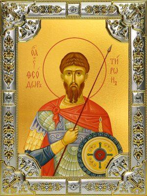купить икону святой Феодор Тирон