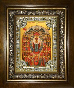 купить икону Собор святых покровителей воинства Российского