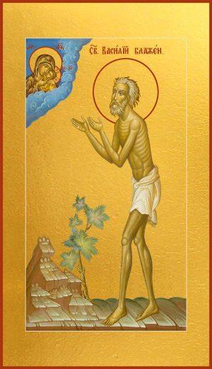 Мерная икона Василий Блаженный