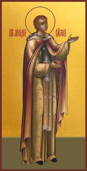 Мерная икона Аркадий Вяземский и Новоторжский преподобный